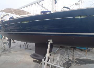 Carénage voilier Océanis 50